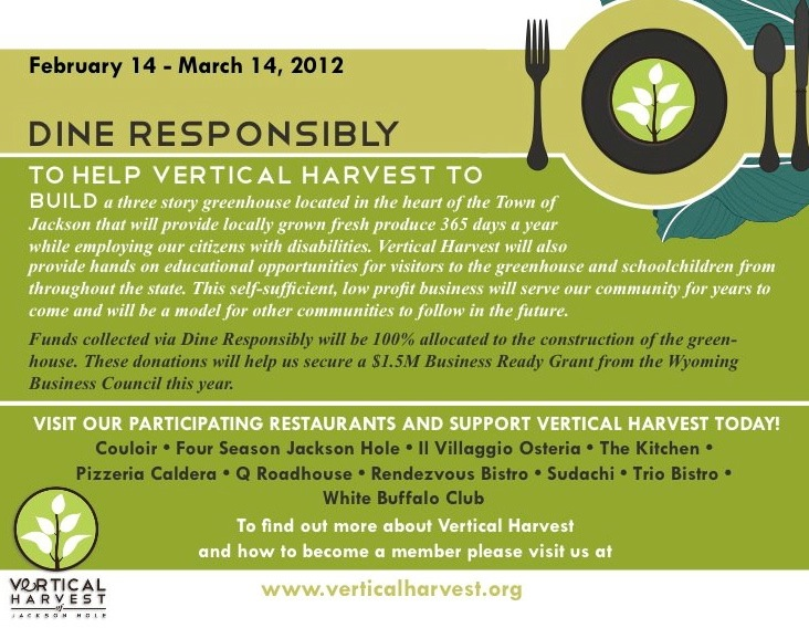 dine responsibly jackson hole vertical harvest the mountain pulse