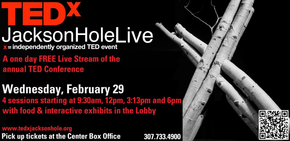 tedx jackson hole the mountain pulse center for the arts
