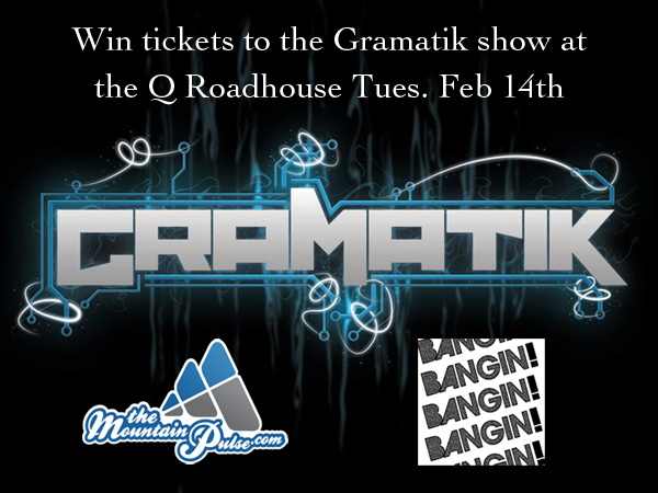 gramatik_giveaway, gramatik ticket giveaway bangin event and entertainment, the q roadhouse