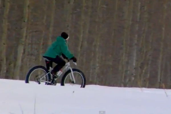 grand_targhee_snow_biking_01, snow biking, fat bikes, grand targhee, nordic trails, winter mountain biking