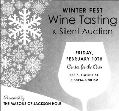 winter fest wine the mountain pulse jackson hole center for the arts