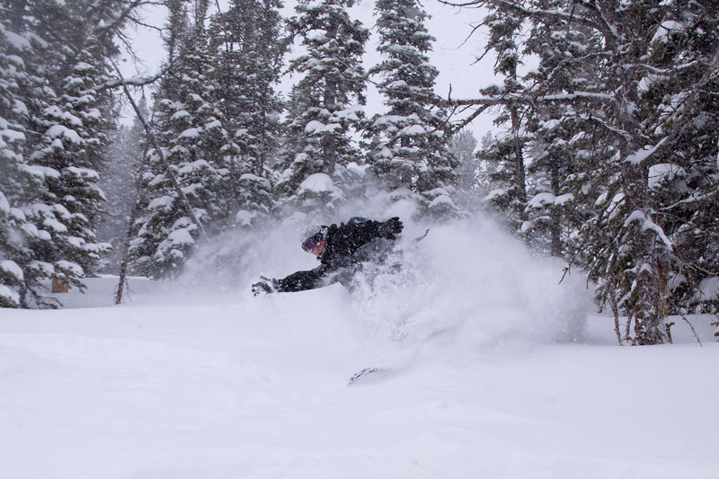 the mountain pulse, photo of the day, jackson hole, snowboarding, powder,