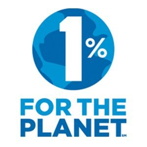 1% for the Planet logo the mountain pulse GOAT