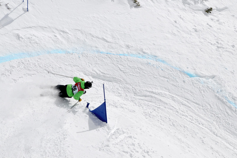 dicks_ditch_05, dick's ditch classic, jackson hole mountain resort banked slalom competition, skiing snowboarding results