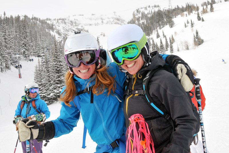 jh_babe_force_12 jackson hole babe force, crystal wright, lynsey dyer, madelaine german, skiing at jackson hole mountain resort