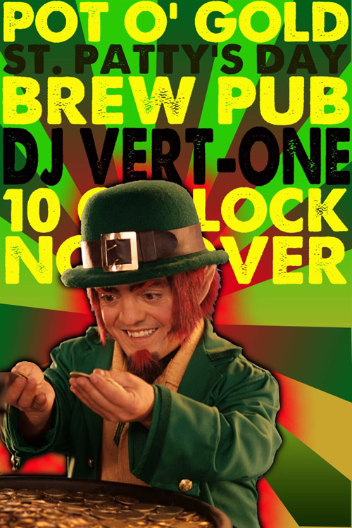 snake_river_brewing_st_patricks_day, st patricks day snake river brewing, dj vert-one