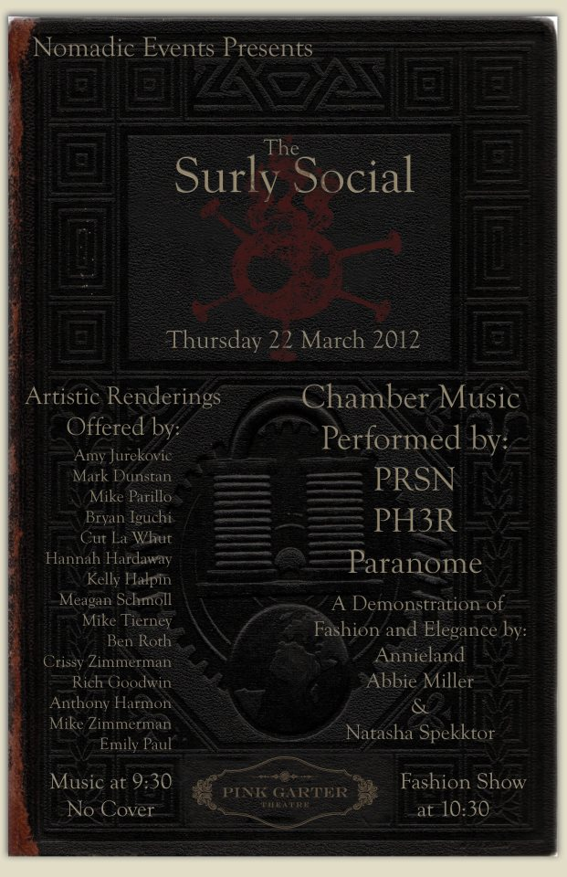 surley social pink garter theater the mountain pulse