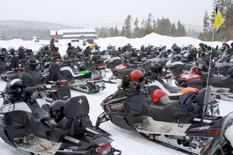 Hundred Days 050 Snowmobiling In Yellowstone National Park The Mountain Pulse Jackson Hole Wyoming