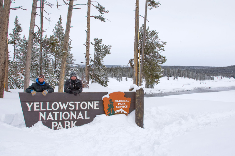 yellowstone_snowmobile_18 snowmobiling yellowstone national park, winter, rocky mountain snowmobile tours, blair waller