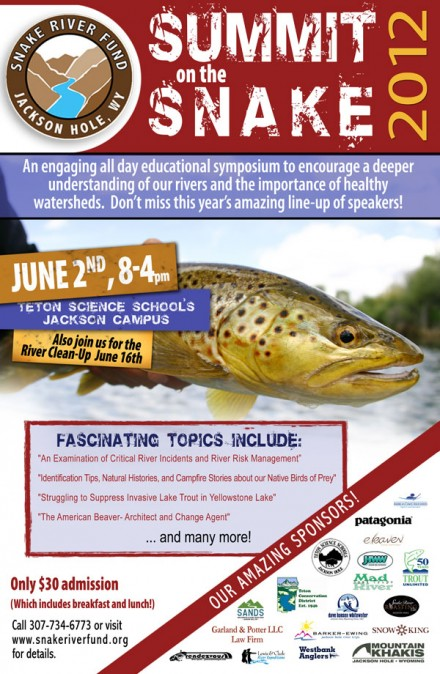 14th summit on the snake poster snake river jackson hole the mountain pulse floating rafting guiding fly fishing