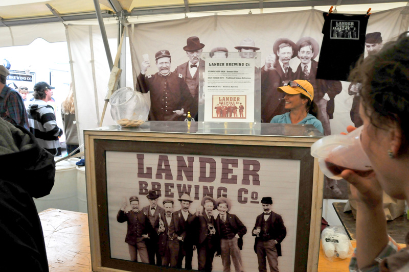 brewfest_06, old west brew fest, jackson wyoming, lander brewing co, half tanked hefeweizen review