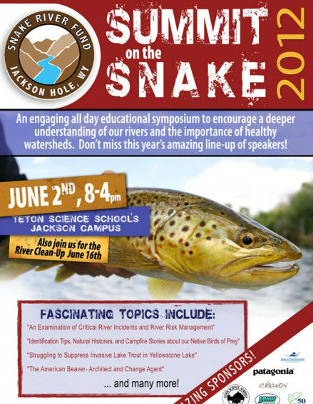 14th summit on the snake poster jackson hole snake river