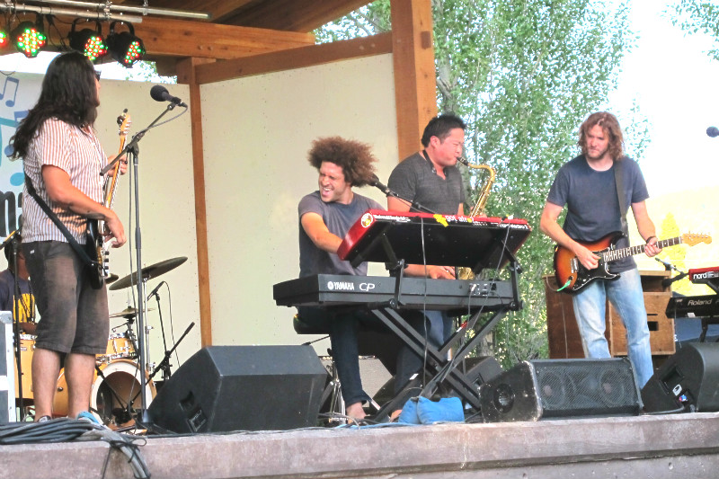 andy frasco and the UN Music on Main teton valley jackson hole victor id