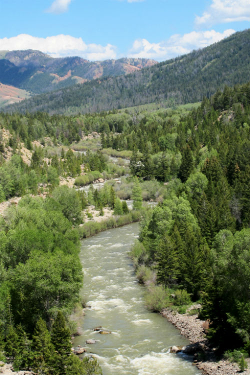 gros_ventre_whitewater_stretch jackson hole wyoming whitewater rafting water sports rendezvous river sports summer