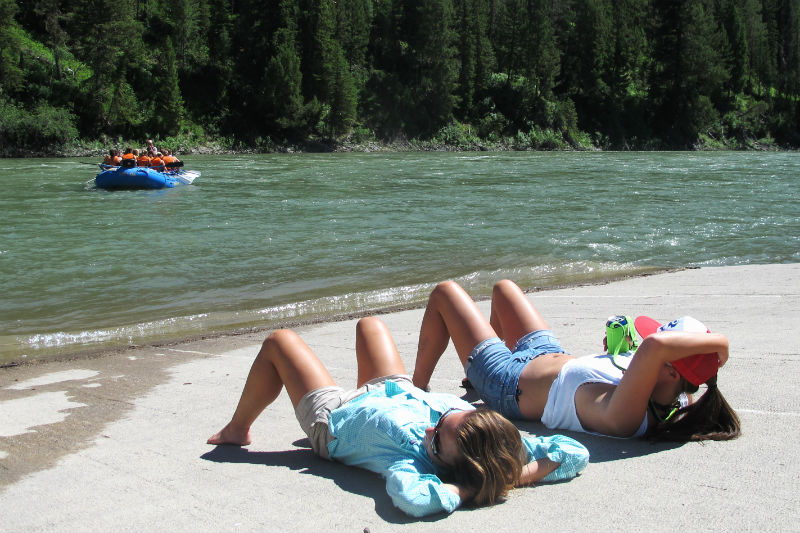 Float_relax_snake_river_whitewater jackson hole wyoming whitewater