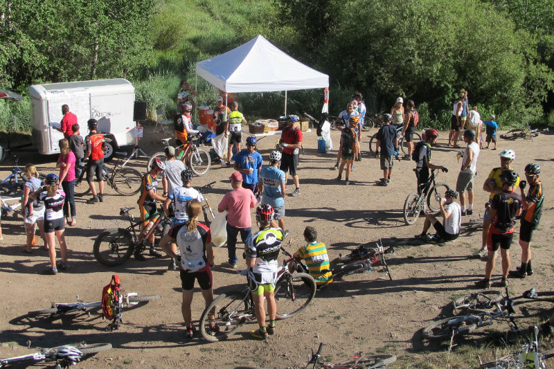 jackson hole mountain biking cache to game creek race