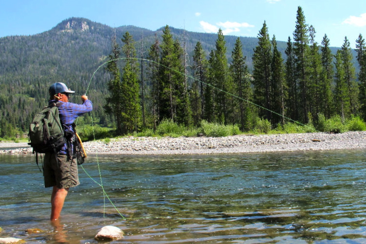 buffalo fork fly fishing jackson hole wyoming trout