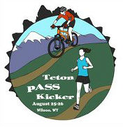 teton pass kicker event logo 2012 jackson hole teton pass wyoming mountain bike