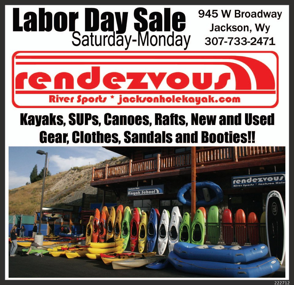 rendezvous river sports labor day sale jackson hole the mountain pulse