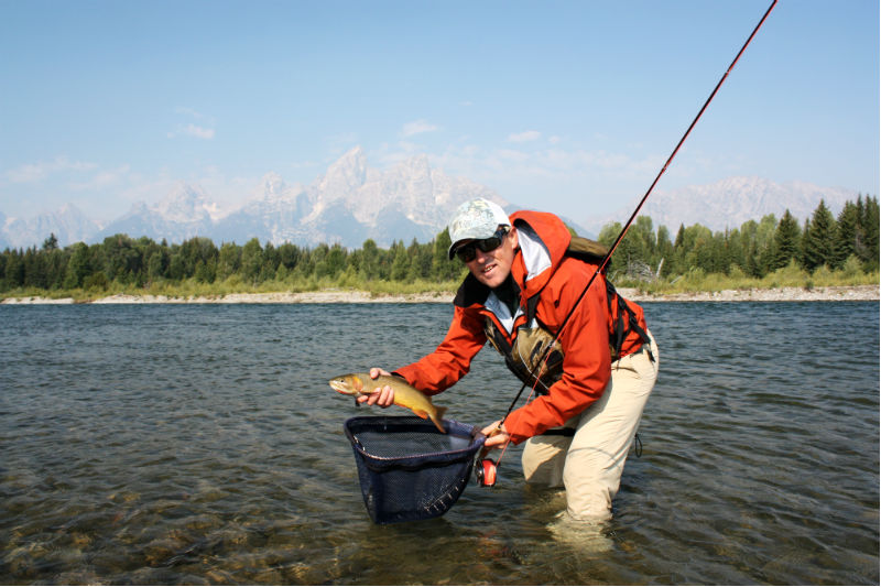 Bernard Boussagol fly fishing grand teton national park jackson hole fish the fly