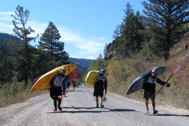 kayakers jackson hole whitewater kayaking deb martin memorial race