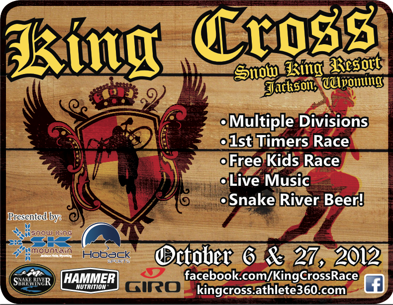 king_cross_poster jackson hole cyclocross
