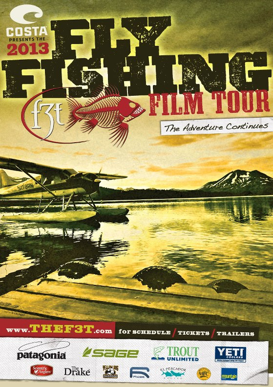 fly fishing film festival tour poster jackson wyoming center for the arts