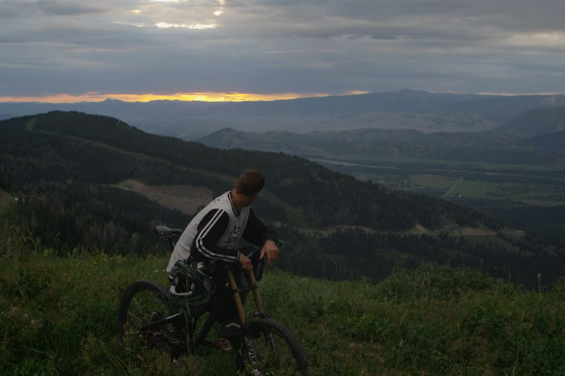 mountain biking jackson hole yeti mtb