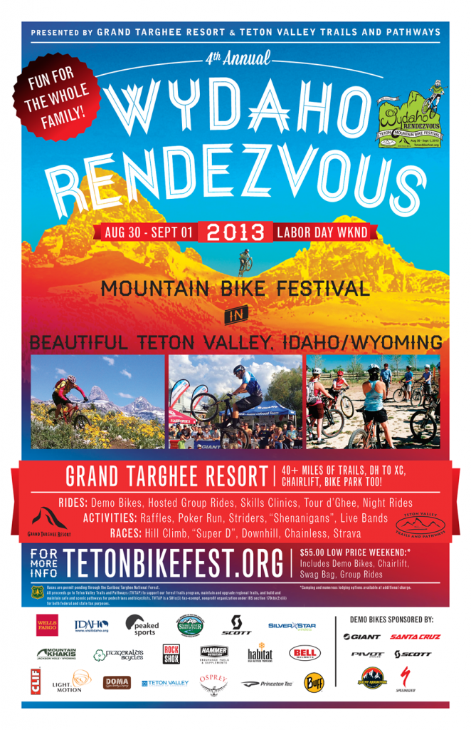 Grand Targhee WYDAHO Mountain Bike Festival