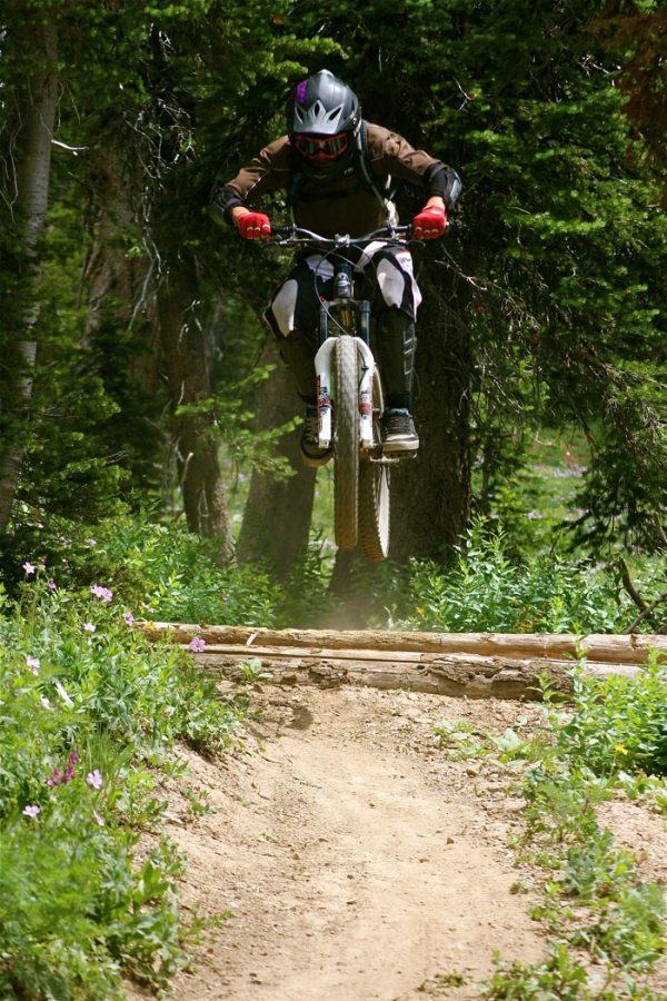 Downhill Mountain Biking Grand Targhee Resort