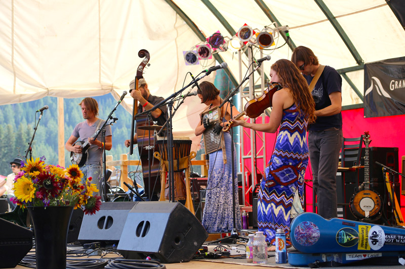targhee blue grass festival photos, grand targhee resort