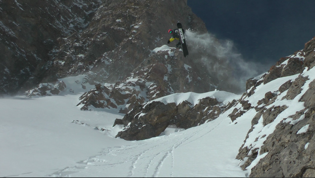 Darrell Miller in the Jackson Hole Backcountry