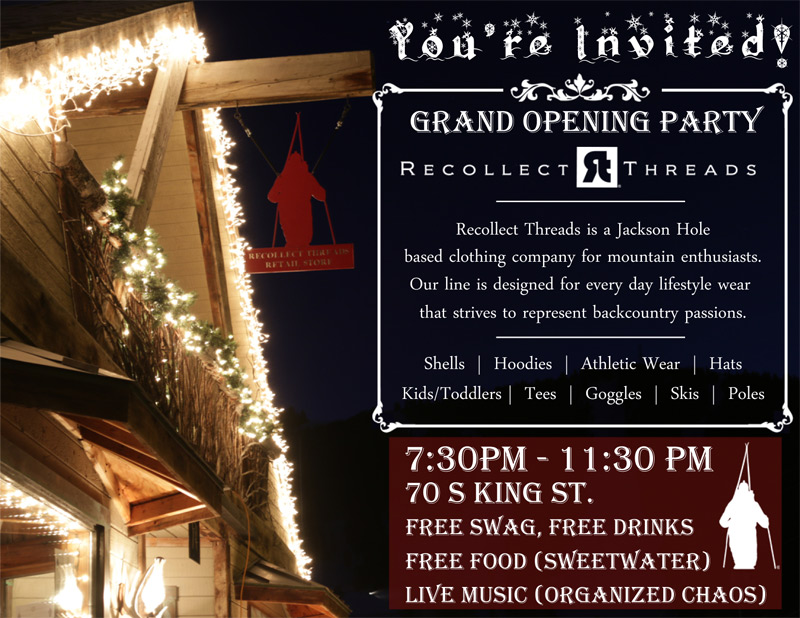 grand opening, jackson hole wyoming