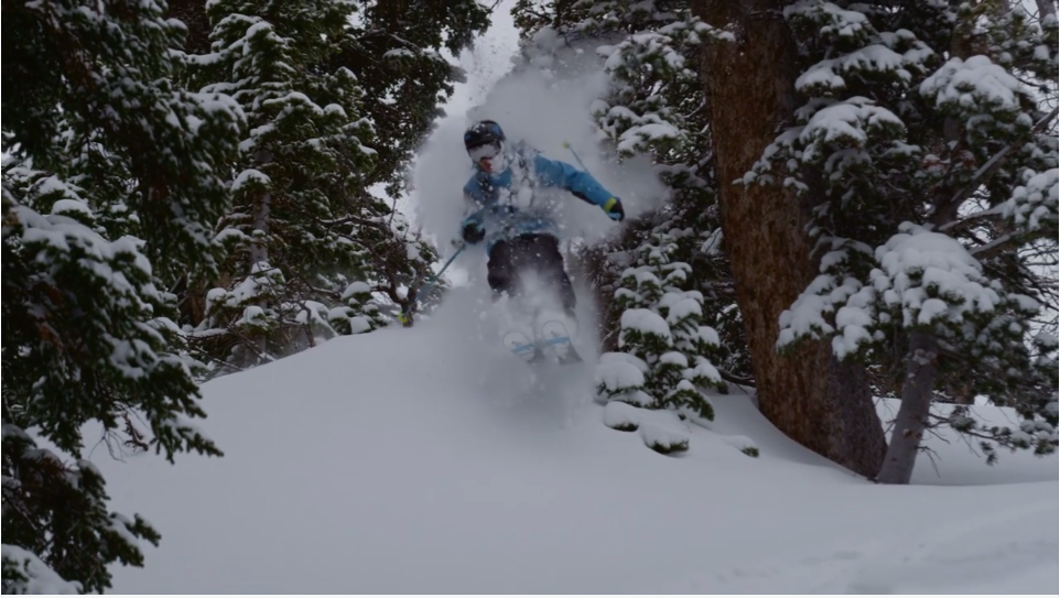 Daniel Tisi in the Jackson Hole Backcountry