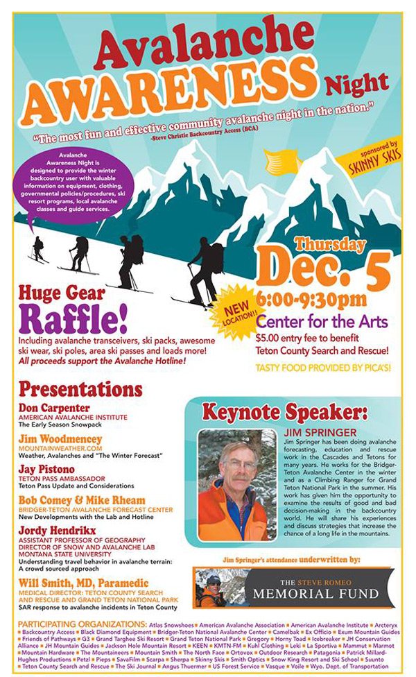 avy_awareness_night_01, jackson hole avalanche awareness night, center for the arts jackson