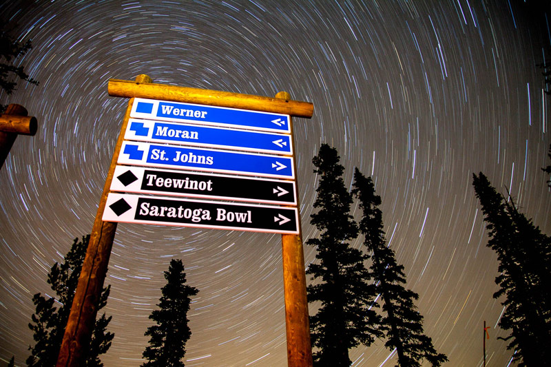 egan_trailsign_stars_01a, stars in jackson hole