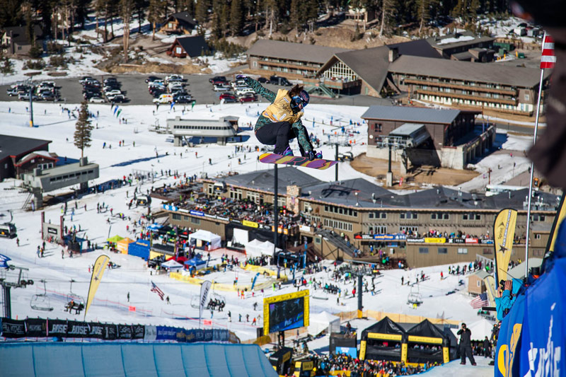 U.S. Snowboarding Grand Prix Olympic Qualifier at Mammoth Mountain