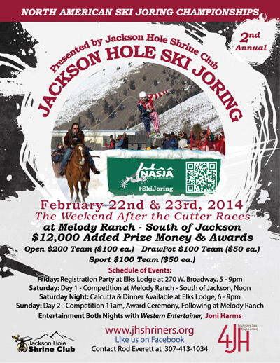 The 2nd Annual North American Skijoring Championships